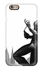 New Snap-on Dwoolll Skin Case Cover Compatible With Iphone 6- Batman Arkham City Game People Women