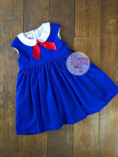 Madeline dress Madeline costume Girls Madeline costume dress Halloween girl costume ()