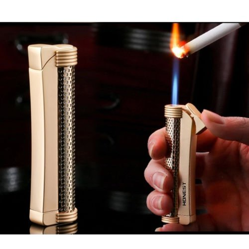 honest-classical-windproof-flame-refillable-butane-gas-cigarette-cigar-lighter
