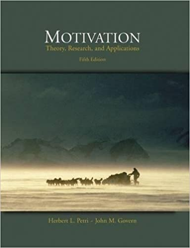 Motivation Theory Research And Application Petri Pdf