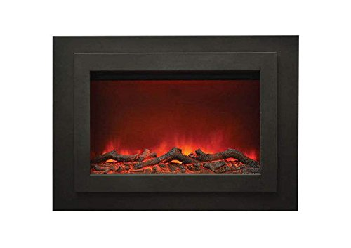 Amantii Zero Electric Fireplace with Surround (ZC-FM-37), 33-Inch ()