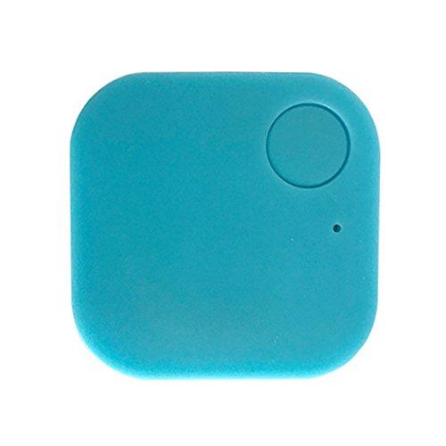 Blueis Car GPS Tracker Kids Pets Wallet Keys Alarm Locator Realtime Finder Tracker (Blue)