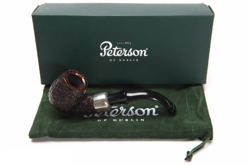 Peterson Standard Rustic 317 Tobacco Pipe PLIP by Peterson