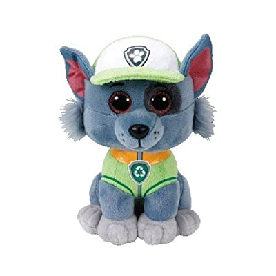Ty 96323 Aladdin Rocky Dog PAW Patrol-MED, Multicolored: Toys & Games