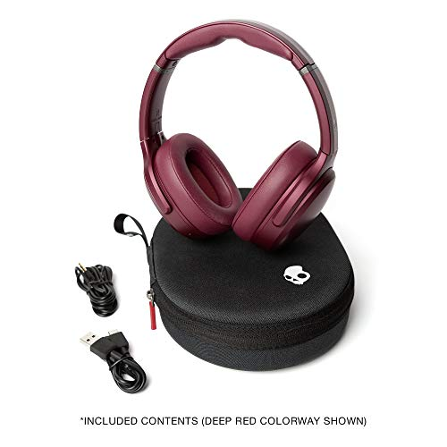 Skullcandy S6CPW-M685 Skullcandy Crusher ANC Personalized, Noise Canceling Wireless Headphones - Moab Red/Black - Moab Red/Black (Pack of1)
