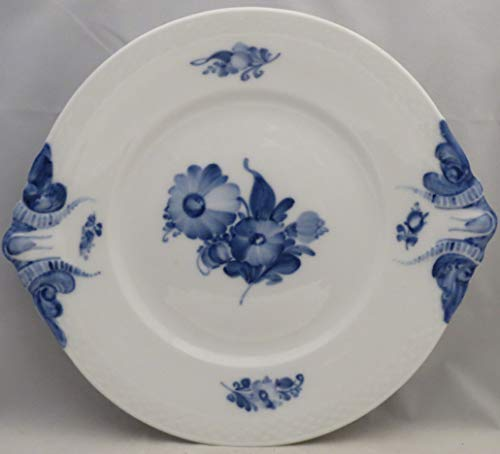 Royal Copenhagen Blue Flowers Braided Handled Cake Plate 8162 (2nd Quality)