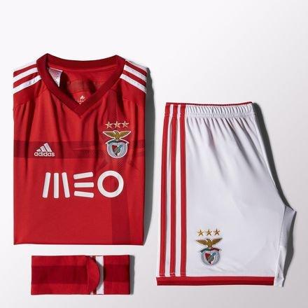 adidas Benfica Lissabon Trikot Set Home 2014/15 Kindergröße