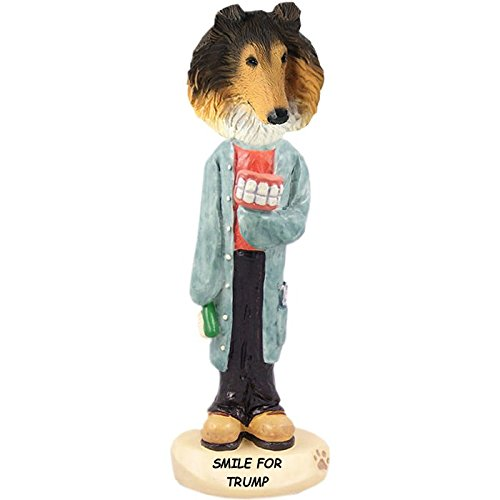 Sable Collie Figurine (Sable Collie Dentist Doogie Collectible Figurine)