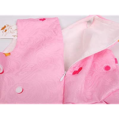 AOVCLKID Toddler Girls Baby Princess Dress up Shark Cartoon Print Party Gown Dress: Clothing