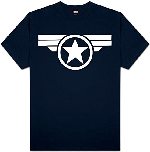 Avengers Captain America Shield Teens Graphic Tee - 1