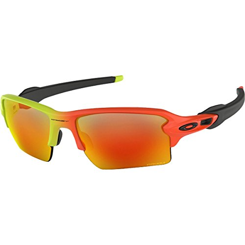 Oakley Men's Flak 2.0 XL Sunglasses,Harmony Fade (Oakley Orange Sunglasses)