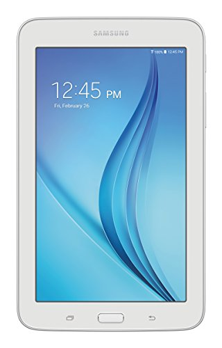 Samsung Galaxy Tab E Lite 7''; 8 GB Wifi Tablet (White) SM-T113NDWAXAR by Samsung