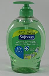 Softsoap Antibacterial Liquid Hand Soap with Moisturizers, Fresh Citrus, 11.25 Oz Pump Bottle, 6 Pack