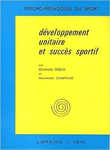Livre gratuits en ligne Développement unitaire et succès sportif pdf, epub ebook
