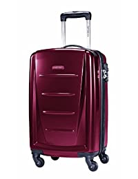Samsonite Winfield 2 Spinner 20-Inch Wheeled Luggage, Carry-On, Red