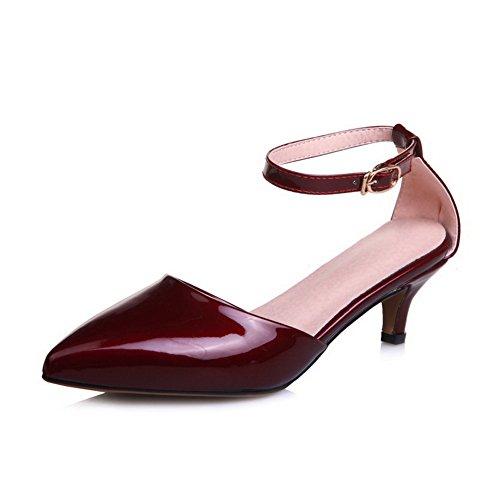Rouge Sandales MJS03480 36 Red EU Compensées Femme 1TO9 5 qZI5CxwZ