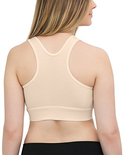 b42811777 Kindred Bravely French Terry Racerback Nursing Sleep Bra for  Maternity Breastfeeding (X-Small