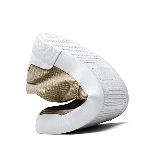 In Slip Scarpe Durevole Tela Resistente Da In Imbottito In On FHTD Sottopiede Khaki Con Leggero E EVA Uomo Tessuto Tomaia d5XWRwRq