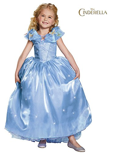 Disguise Cinderella Ultra Prestige Costume, Medium (7-8)