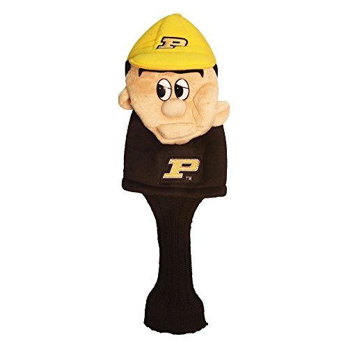 Purdue Boilermakers Club Golf - Team Golf NCAA Purdue Boilermakers Mascot Golf Club Headcover, Fits most Oversized Drivers, Extra Long Sock for Shaft Protection, Officially Licensed Product