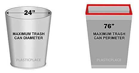 Amazon.com: 12 – 16 galones bolsas de reciclaje – 250/Case ...