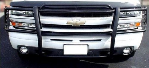 2000 2001 2002 2003 2004 2005 2006 Chevy Tahoe Black Modular Grille Guard Brush Nudge Push Bar