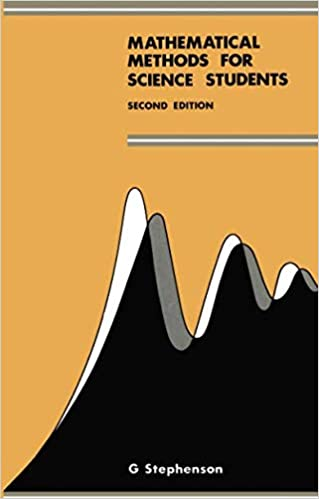 Amazon Com Mathematical Methods For Science Students 9780582444164