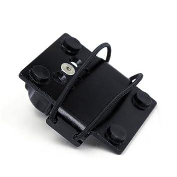 Techmount 4-RADAR-B - Radar Detector Top Plate - Black by Techmount: Amazon.es: Coche y moto