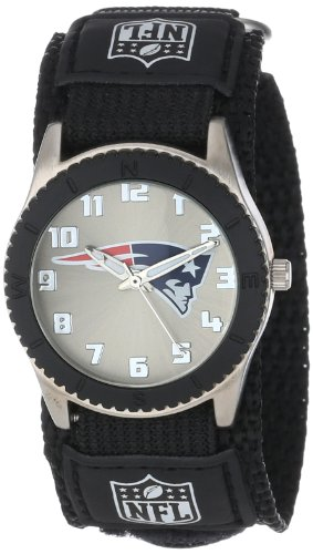 New England Patriots Womens Watch - Game Time Unisex NFL-ROB-NE Rookie Black Watch - New England Patriots