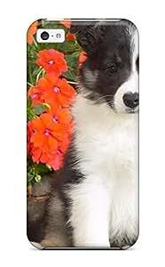 LJF phone case EtjgPCc5253lnYOW Shetland Sheepdog Puppy Awesome High Quality iphone 6 plus 5.5 inch Case Skin