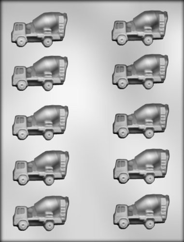 CK Products 2-1/4-Inch Cement Mixer Chocolate Mold