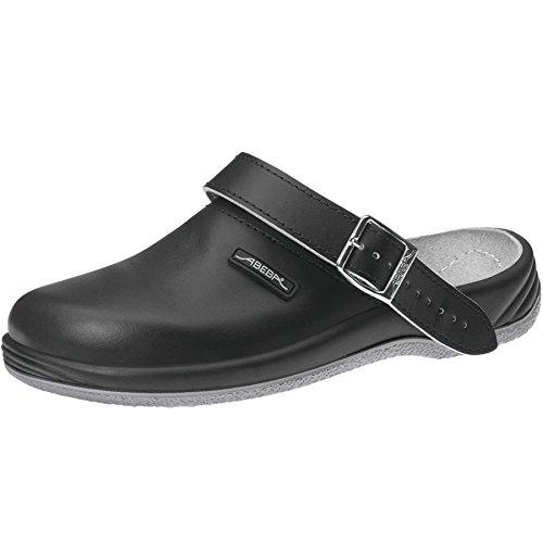 Abeba 8210-46 Arrow Chaussures sabot Taille 46 Noir