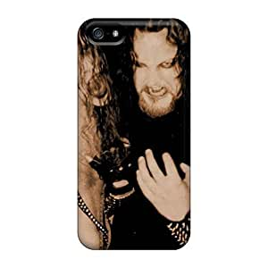 Bumper Hard Cell-phone Cases For Iphone 5/5s With Unique Design Fashion Three Days Grace Pattern KellyLast