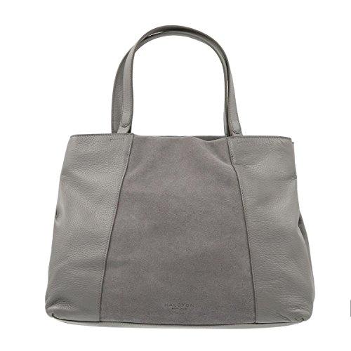 Tote Heritage Handbags SLATEGREY MH2311L3 Womens Halston 70fqnwRw