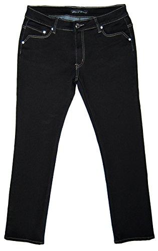 Girl-Vivi-Jeans - Vaqueros - recto - para mujer negro
