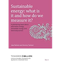 Sustainable Energy: what is it and how do we measure it?: A pioneering book about alternative energy, renewable energy and thermodynamics (Towards 9 ... and big ideas for a sustainable future)