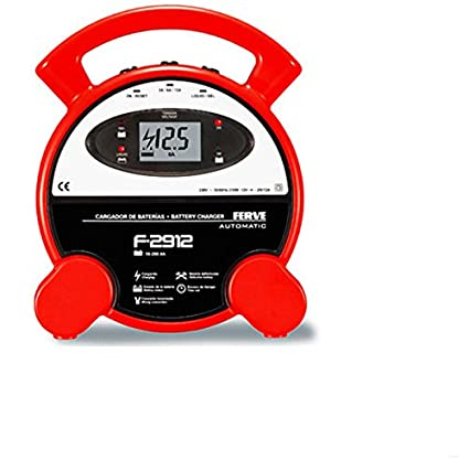 FERVE - Cargador Bateria Auto 2-6-12A Ferve 12 V: Amazon.es ...