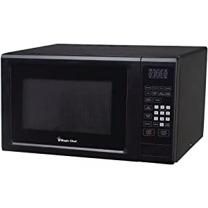 MAGIC CHEF MCM1110B 1.1 Cubic-ft, 1,000-Watt Microwave with Digital Touch (Black) 7