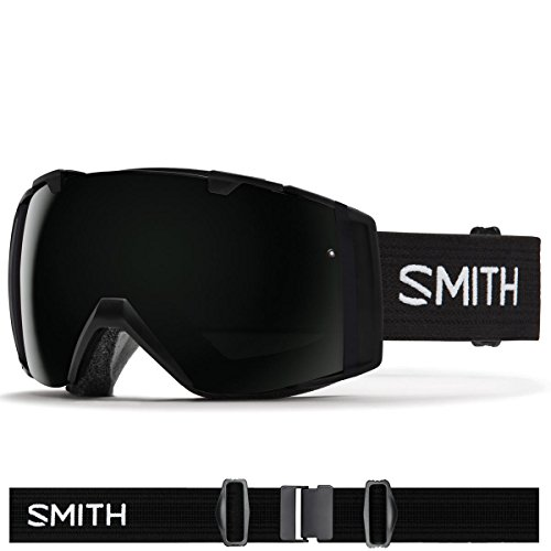 Smith Optics I/O Adult Snowmobile Goggles Black / Blackout by Smith Optics