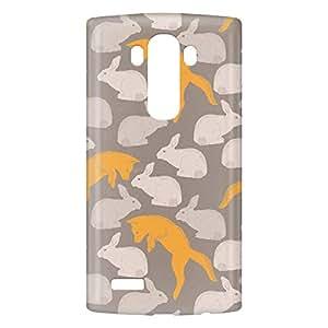 Loud Universe LG G4 Spring Rabbit Fox Print 3D Wrap Around Case - Multi Color