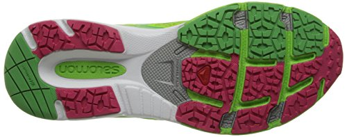 3D Wasabi Green X Hot Scream Mujer Grün Zapatillas Salomon Firefly Pink 86qBEE