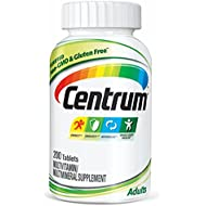 Centrum Adult (200 Count) Multivitamin/Multimineral Supplement Tablet, Vitamin D3
