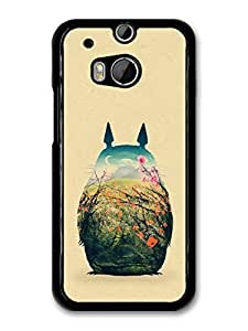 My Neighbour Totoro Hayao Miyazaki Coloured Illustration case for HTC One M8 A8961 by mcsharks