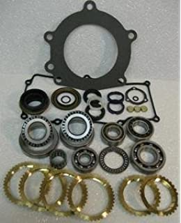 M5R1 5-SPEED MANUAL TRANSMISSION REBUILD KIT WITH SYNCHRO RINGS: VALUE PRICED: FITS