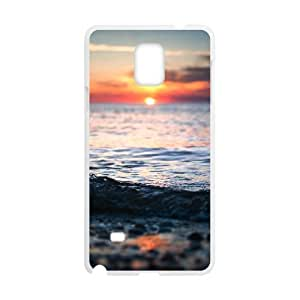 Good Quality Phone Case With HD Seascape Images On The Back , Perfectly Fit To Samsung Galaxy Note 4