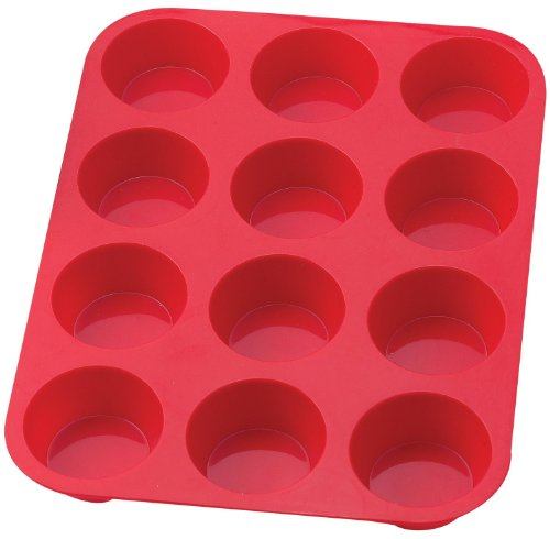 niceeshop(TM) 12 Cavity Cup Silicone Cake Mold Pan