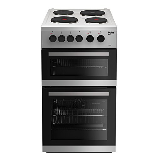 Beko KD533AS Freestanding A Rated Electric Cooker in Silver