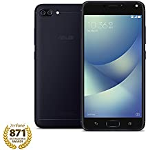 ASUS ZenFone 4 Max 5.2-inch HD 2GB RAM, 16GB storage LTE Unlocked Dual SIM Cell Phone, US Warranty, Black (ZC520KL-S425-2G16G-BK)