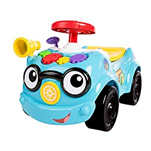 Baby Einstein Baby Einstein Roadtripper Ride-On Car and Push Toddler Toy with Real Car Noises, Ages 12 Months and up
