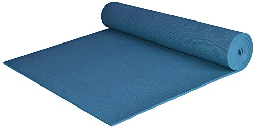 Yoga Accessories Extra Wide and Extra Long 1/4'' Thick Deluxe Yoga Mat (Dark Teal)